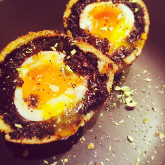 Closeup Scotch Egg