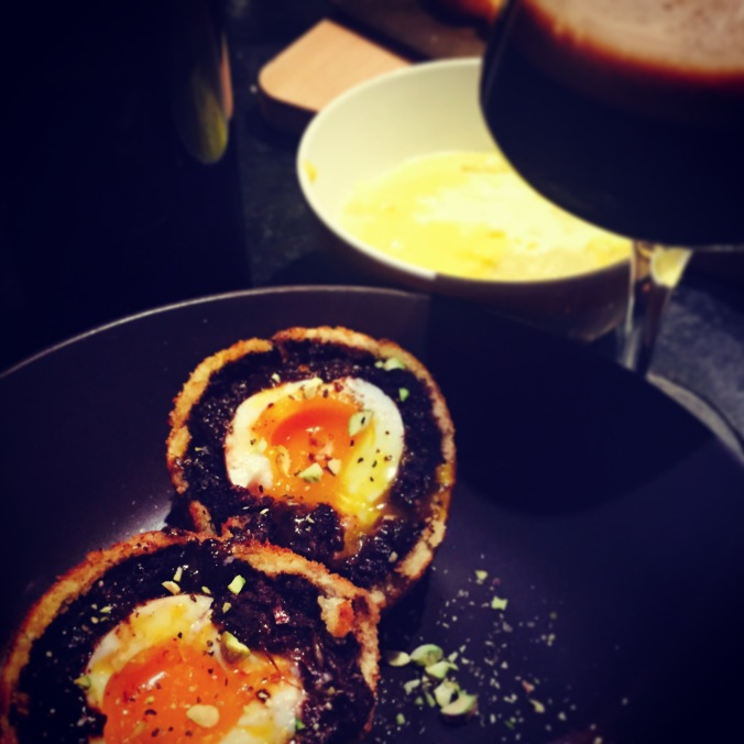 Scotch Eggs and Porter