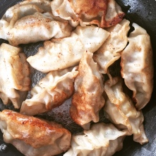 Butter-Fried Pork Dumplings
